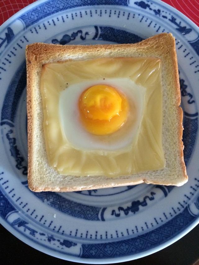 鸡蛋芝士吐司的做法_【图解】鸡蛋芝士吐司怎么做好吃