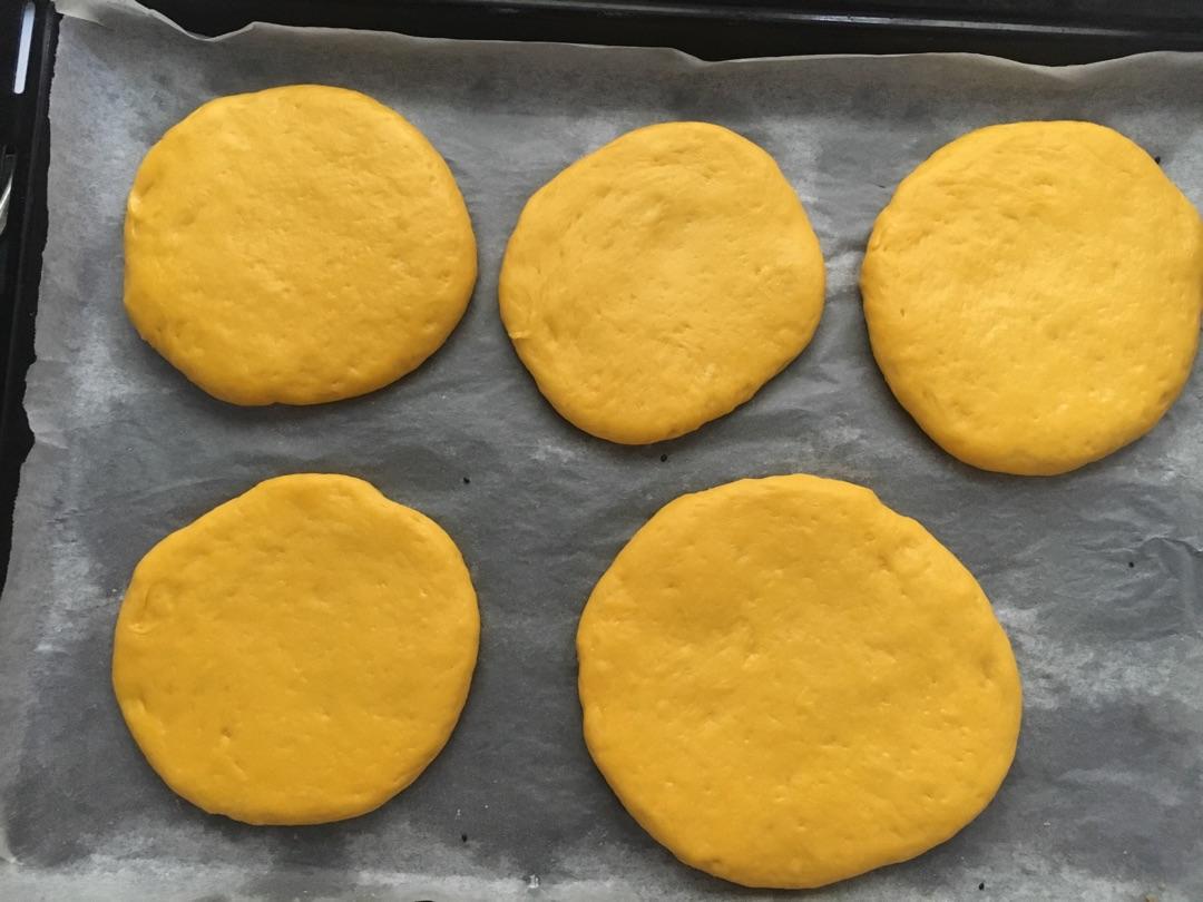 南瓜发面烤饼(烤箱版)的做法图解12