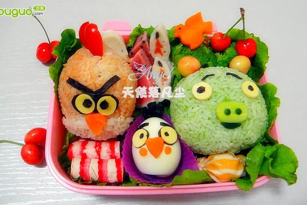 憤怒的小鳥便當——寶寶食譜的做法_【圖解】憤怒的 ...