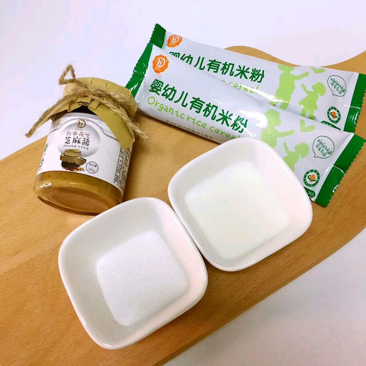 食材:真空有机红枣80g,花生食品芝麻酱30g,米粉奶40g,白砂糖10g配方小婴儿阜阳包装袋图片