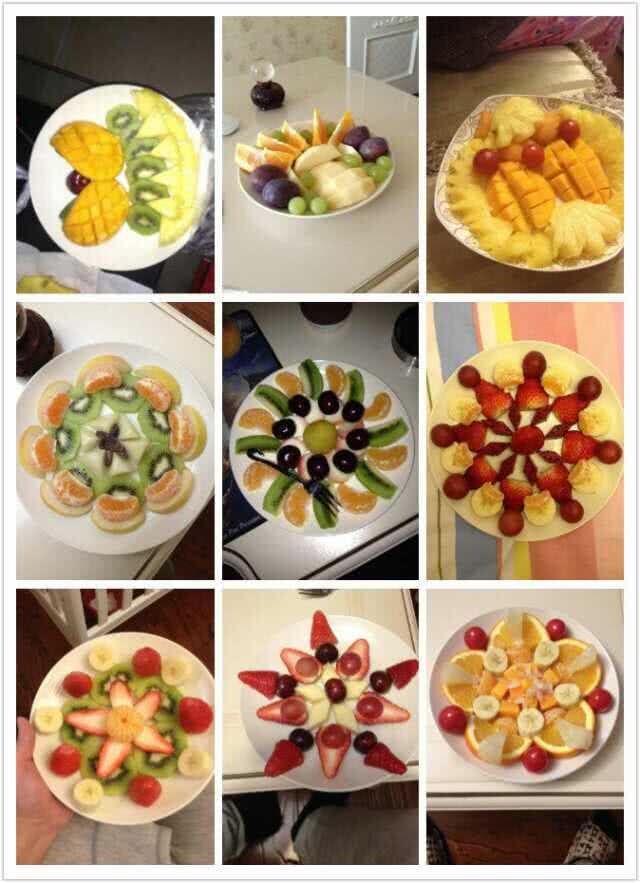 各色水果拼盘