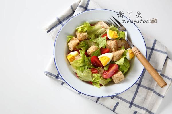 蔬菜色拉#寻找食趣#的做法