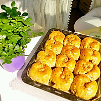 绿豆核桃面包