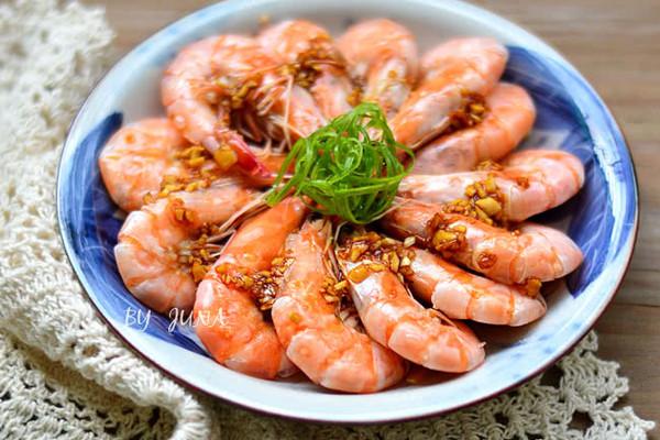清蒸虾#美的聪明火微波炉#的做法_【图解】清蒸虾#美