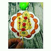 芦笋鸡蛋卷(棒棒糖版)#嘉宝笑容厨房#的做法图解12