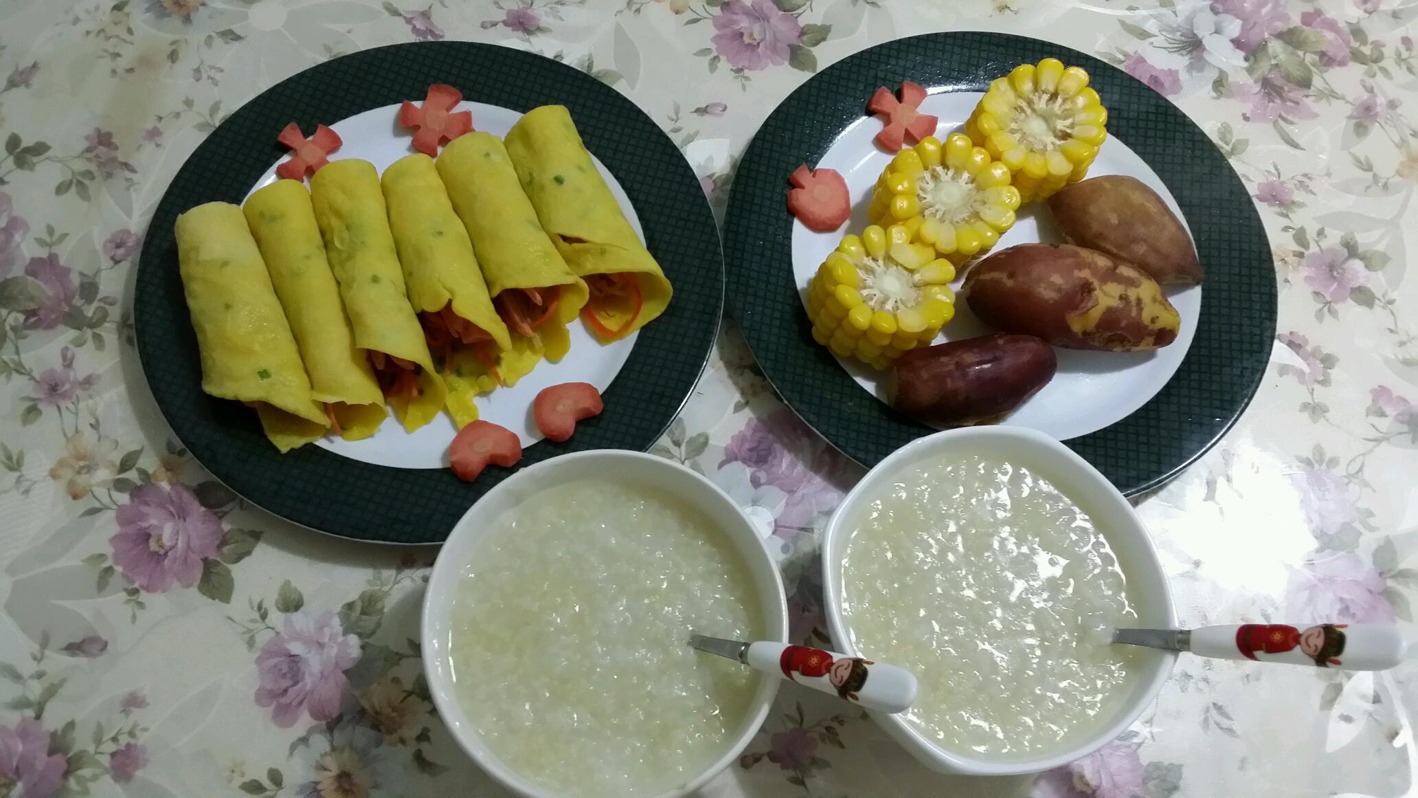 学龄儿童营养早餐