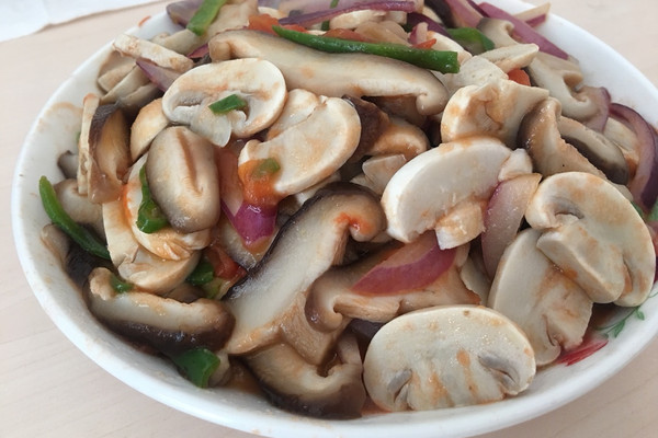 清炒香菇口蘑的做法_【图解】清炒香菇口蘑怎么做如何