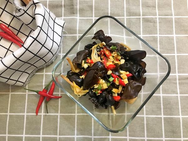 开胃小菜-凉拌黑木耳