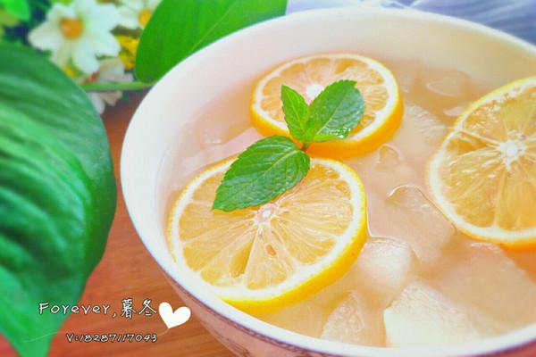 柠檬冰糖雪梨的做法