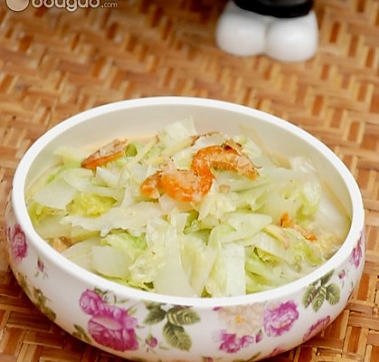 海米白菜的做法