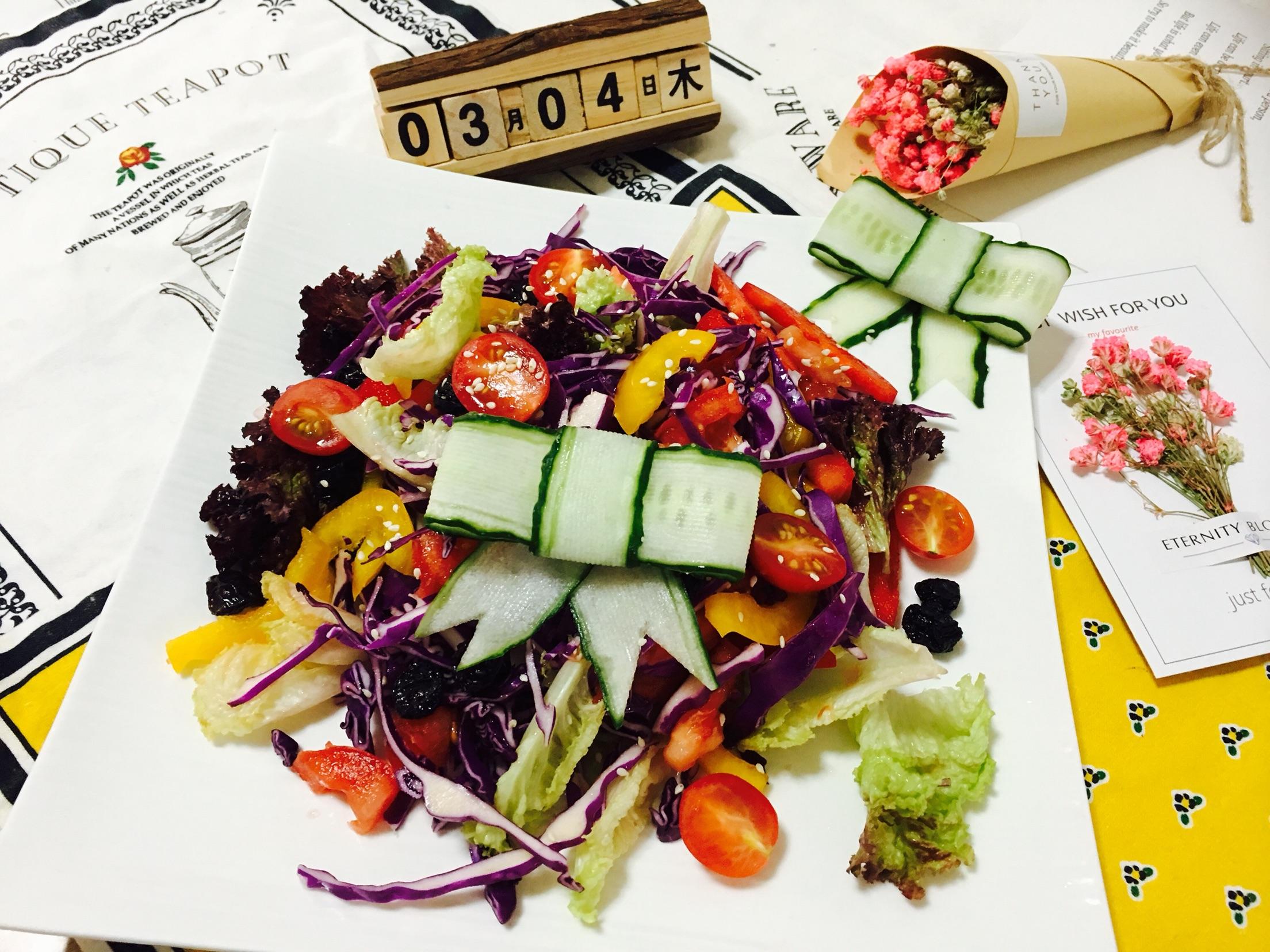 蔬菜沙拉的做法步骤        本菜谱的做法由  编写,未经授权不得