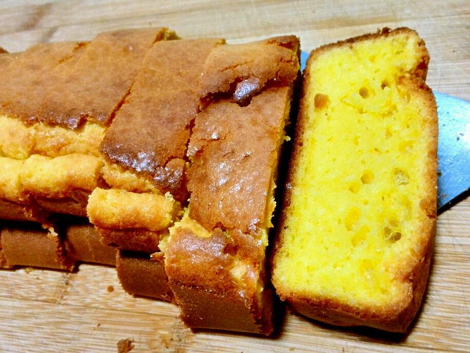 小清新之柠檬黄蛋糕
