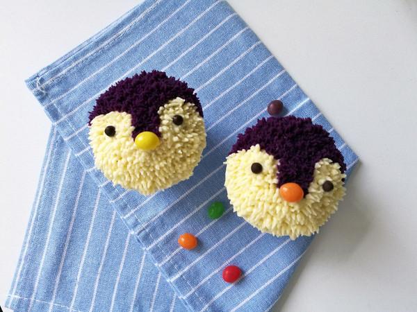 小企鹅cupcake-薯泥玩转裱花