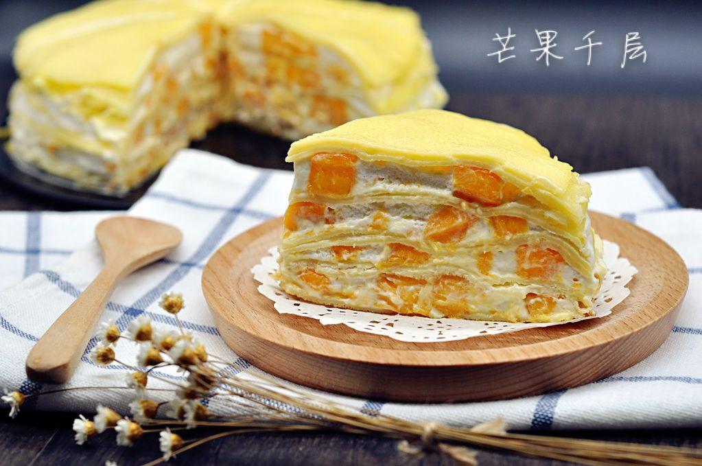 淡奶油300g 细砂糖30 芒果适量 香草精几滴 芒果千层的做法步骤 1.