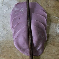紫薯玫瑰馒头的做法<!-- 图解7 -->
