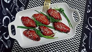 叉烧酱蜜汁烤鸡翅-简单烤箱菜-蜜桃爱营养师私厨【图片】