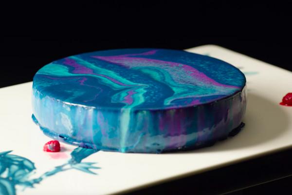 星空蛋糕的做法 星空蛋糕怎么做如何做好吃 星空蛋糕家常做法大全 鹦