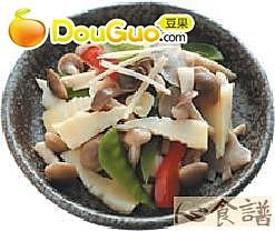 什锦炒菇的做法