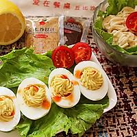 果蔬鸡蛋沙拉#丘比沙拉汁#
