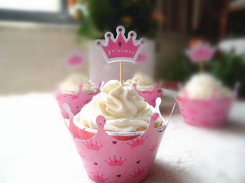 原味戚风奶油杯子蛋糕
