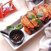 香辣烤翅#丘比沙拉汁#