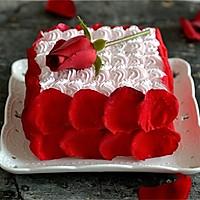 【番茄配方】玫瑰情人节蛋糕