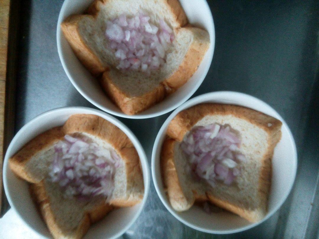 烤燕麦土司早餐饼的做法图解1