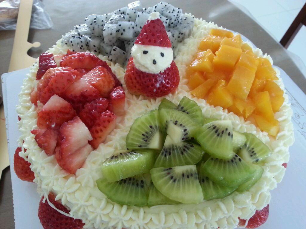 水果生日蛋糕的做法图解3