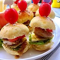 #丘比沙拉汁#mini汉堡包