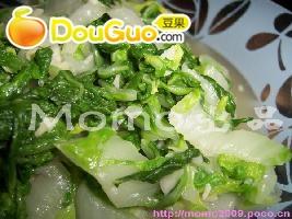 蒜茸杭白菜的做法