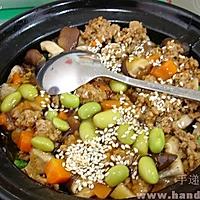 电饭锅/电饭煲香菇鸡腿煲仔饭