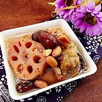 花生薏米红枣骨藕汤#花家味道#的做法图解6