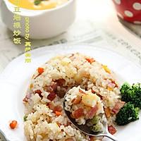 土豆培根炒饭--利仁电火锅试用菜谱