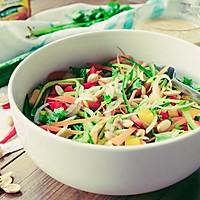闷热黄梅里的清新小菜:东南亚风味蔬菜沙拉 #太太乐鲜鸡汁西式