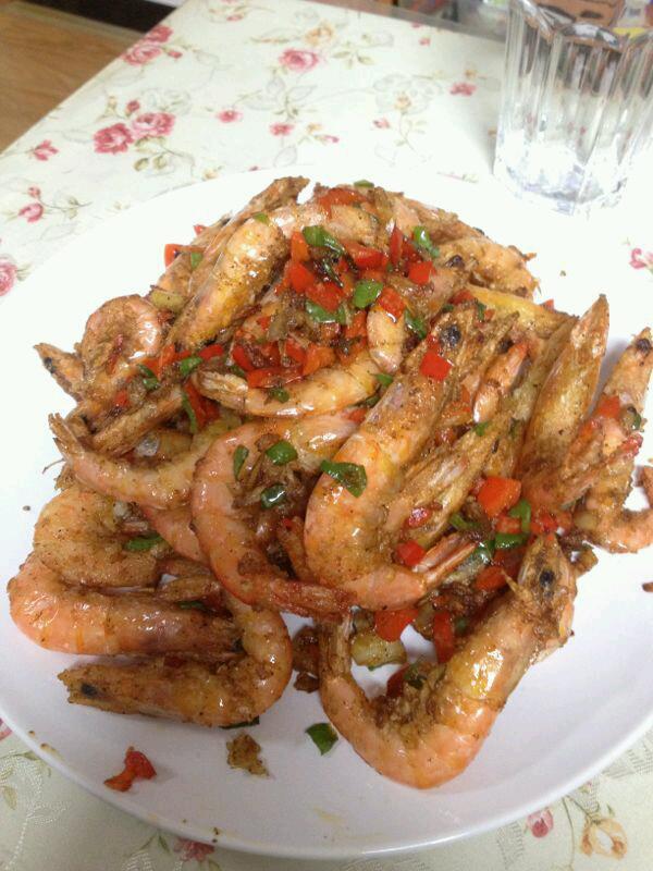 椒盐大虾的做法步骤