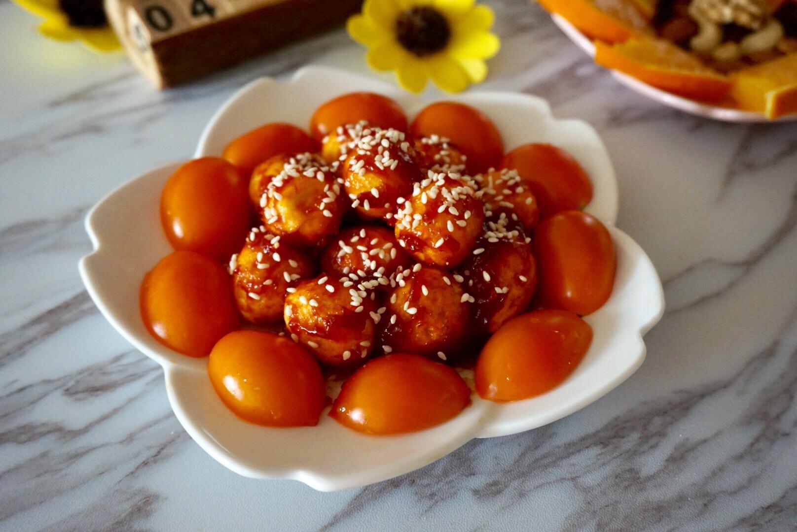茄汁鹌鹑蛋的做法_【图解】茄汁肥肠蛋做做__鹌鹑烧血图片