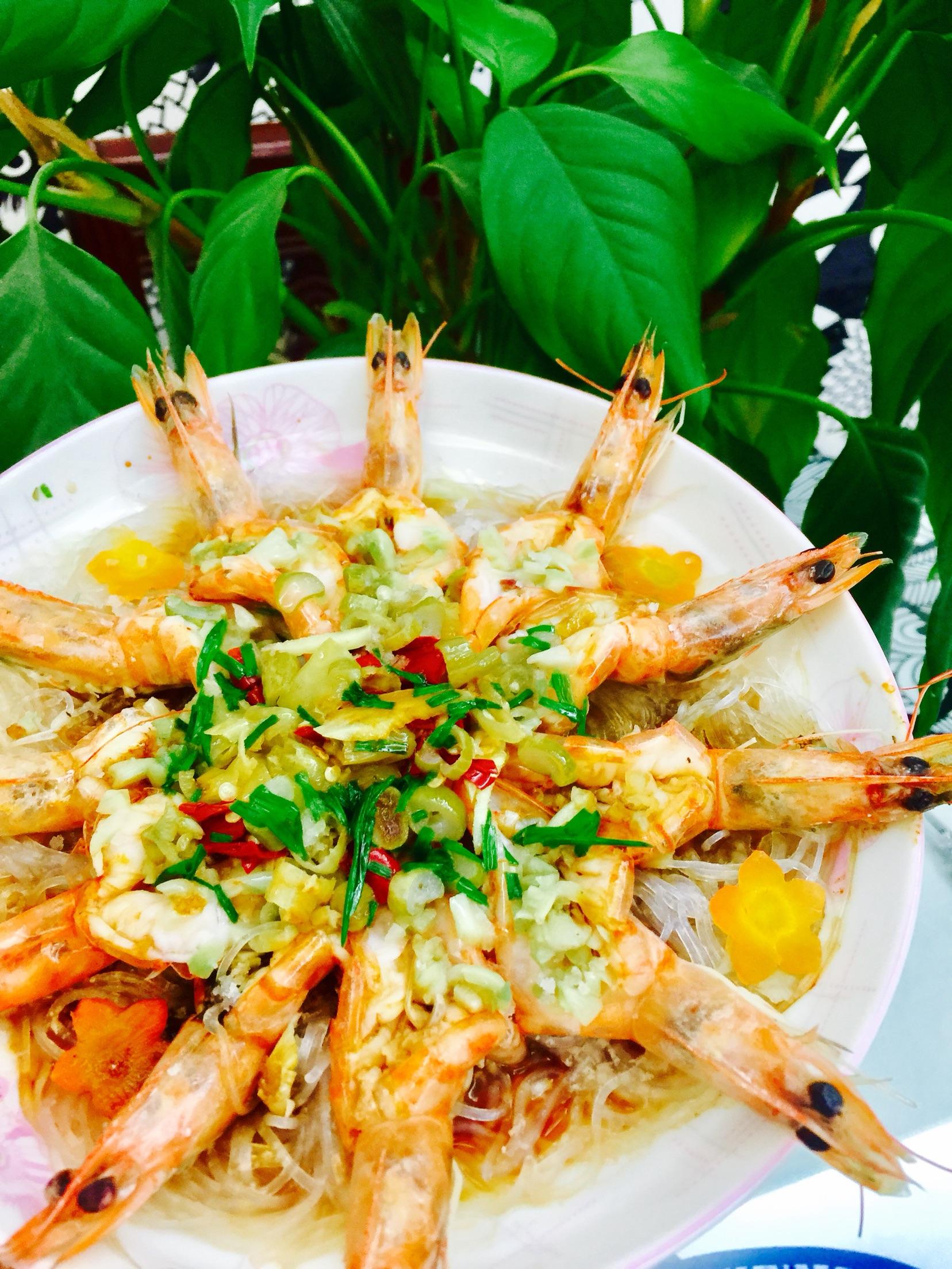 蒜蓉蒸大虾的做法_【图解】蒜蓉蒸大虾怎么做如何做