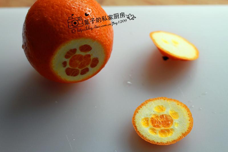 水果橙子剪纸大全步骤