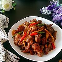 干锅鸡杂#厨此之外,锦享美味#