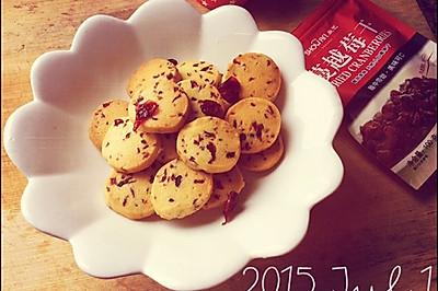 新手初学——蔓越莓曲奇饼干(超具体)
