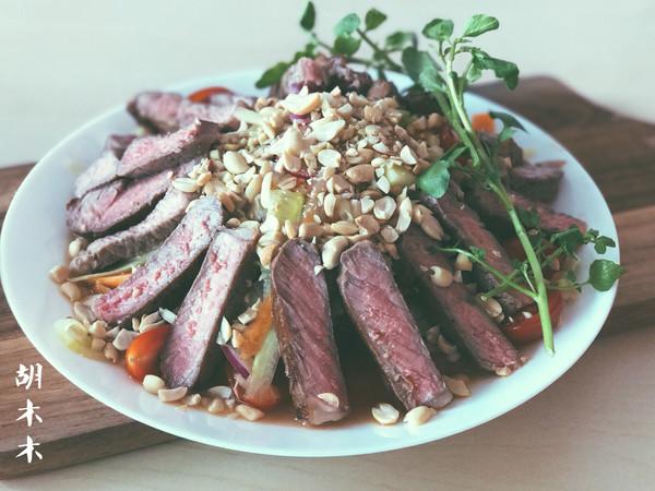 厨神的牛肉沙拉