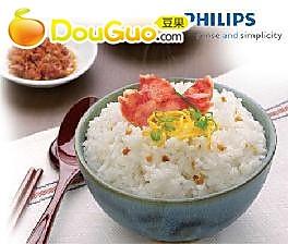 """""""飞利浦""""香喷喷白米饭--巧变腊肠饭(6人份)的做法"""
