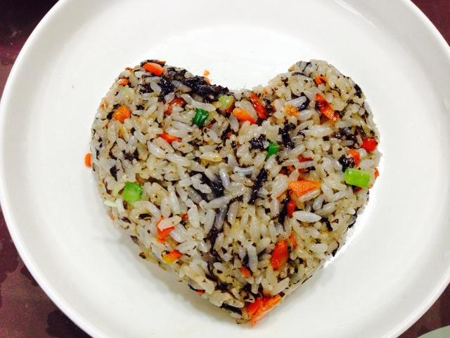 紫菜炒饭的做法步骤