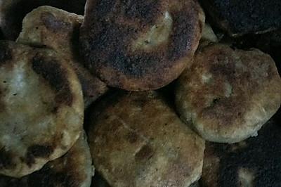 糯米芋头饼