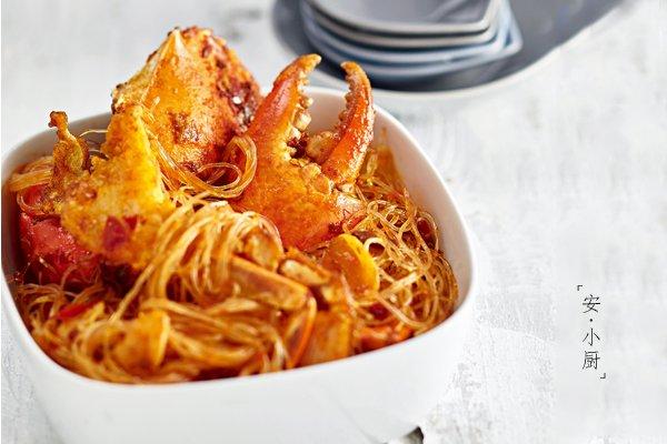 肉蟹粉丝煲的做法