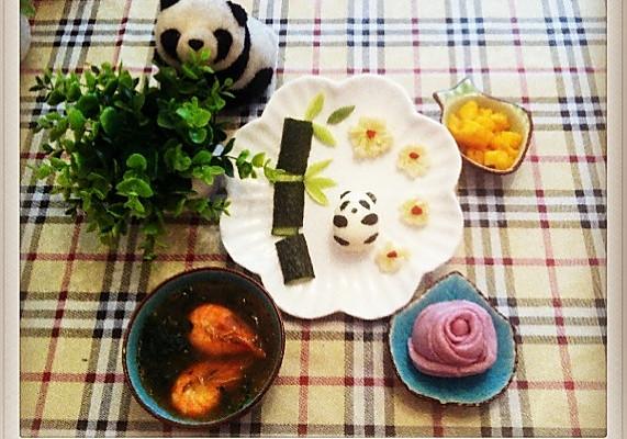 宝宝餐—小熊猫
