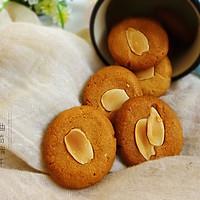 杏仁曲奇饼干#我的烘焙不将就#