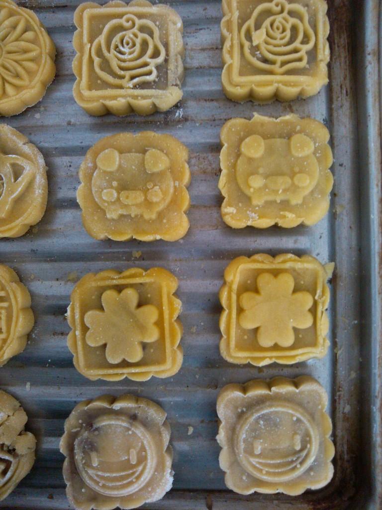 桃山皮月饼 简易版的做法步骤