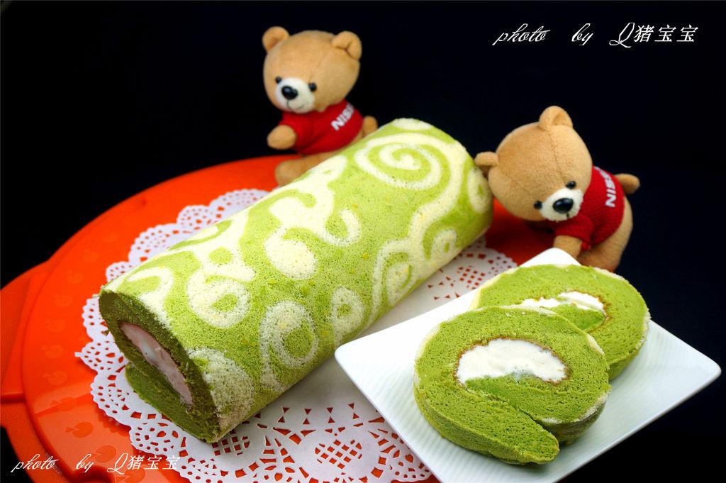 彩绘蛋糕卷 彩绘蛋糕卷的做法