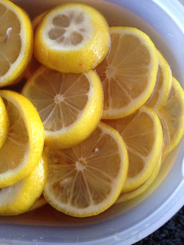 小清新蜂蜜柠檬